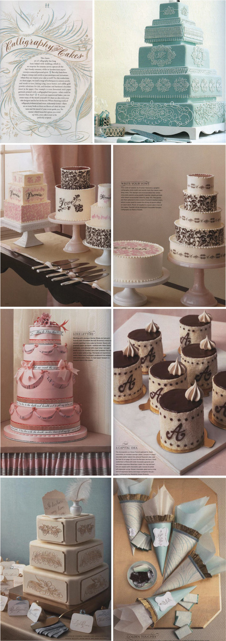 EYE CANDY Vintage Inspired Wedding Cakes