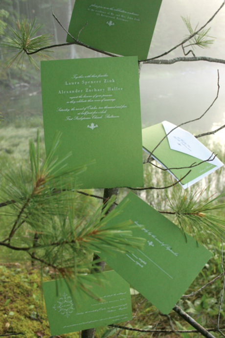 In this article we will discuss some ideas about a green wedding invitation