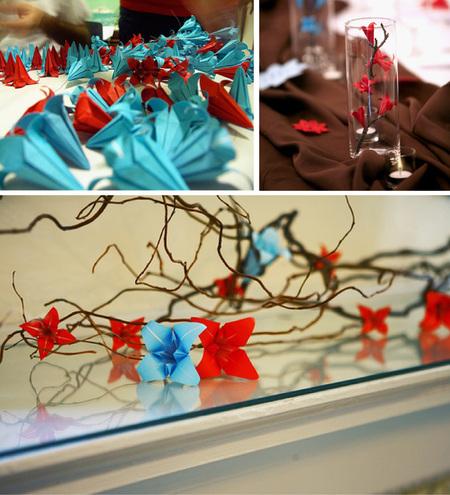 {Oh La La Origami} Wedding Inspirations | Principles in ... - photo#38