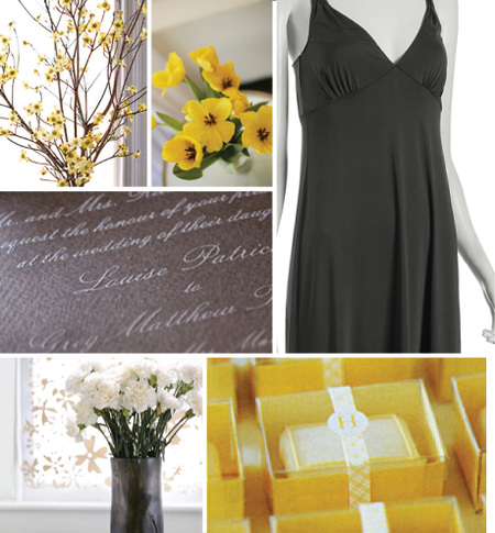 Goldenrod Flowers on Flowers By Domino Magazine  Yellow Flowers By Botanica  Grey