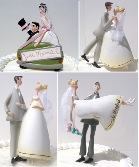 wedding cake tops show
