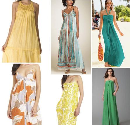 Maxi dresses 2011