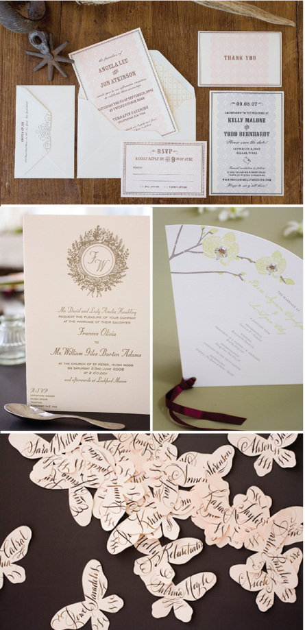 Give yourself breathing room by ordering extra invitations These can