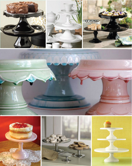 Actually any of these cake stands below would look great set up the same